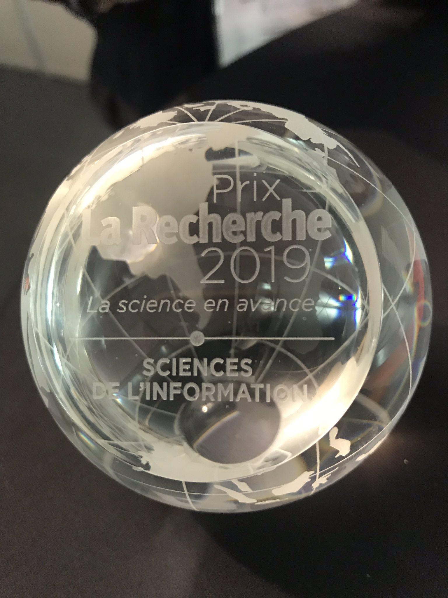 Prix de la recherche